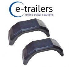 "Wide Trailer Mudguards for 20.5x8.00 -10 Floatation 10"" Tyres as used on P6e P7e P8e"